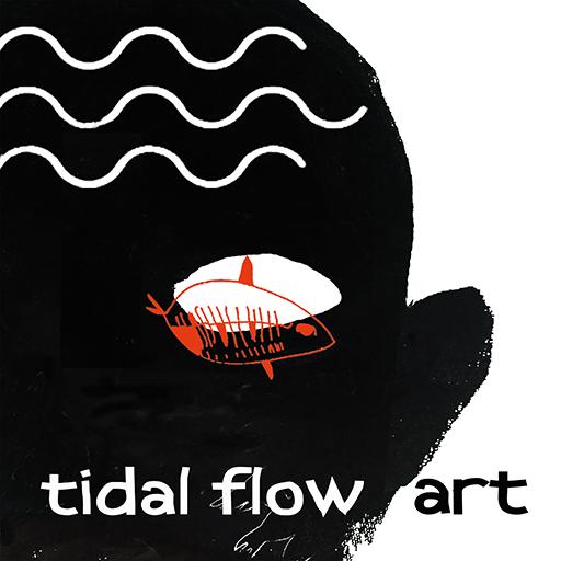 tidal flow art logo thumbnail
