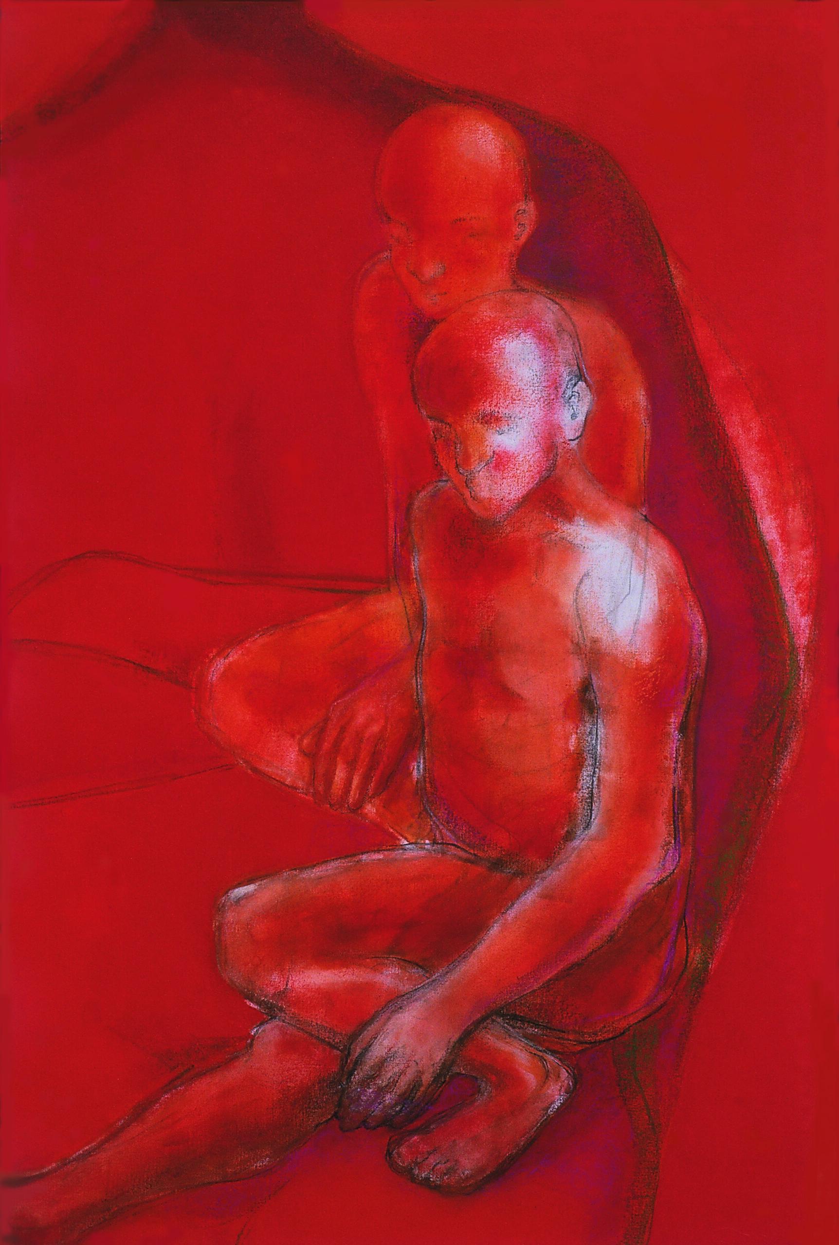 again-time loss-penelope-kouvara-painting-2